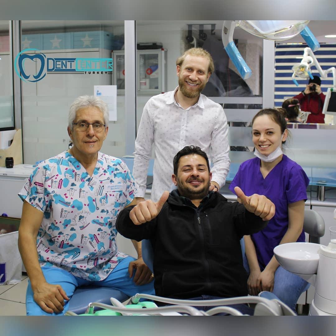 نتائج تجميل الاسنان في تركيا